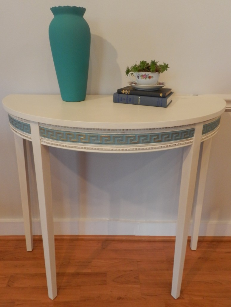 Simple small decorative table