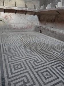 Greek Key Floor Art