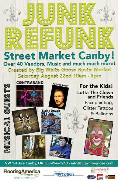 Junk Refunk Street Market