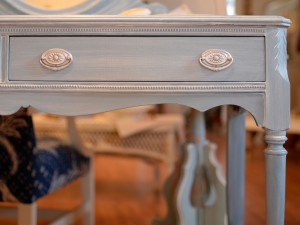 Painted Victorian Desk