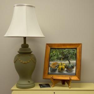 Efex Lamp on diesk