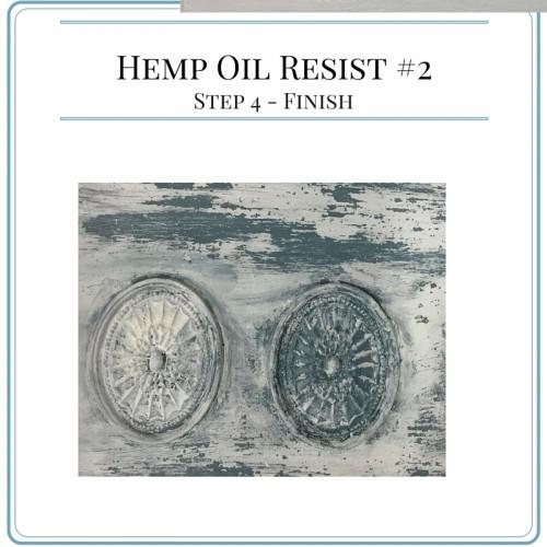 Hemp oil resist 2