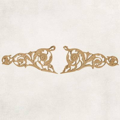 Neo-Classical Style Scroll