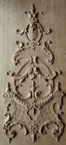French Antique Panel