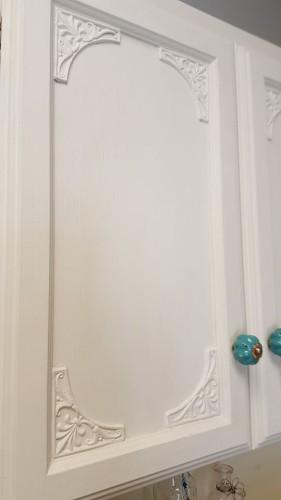 painted bathroom cupboard