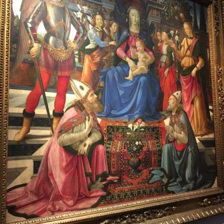Da Vinci at Uffizi