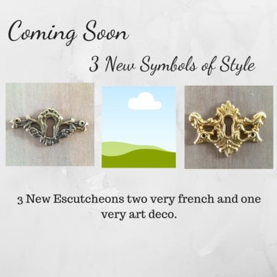 Escutcheons Coming Soon