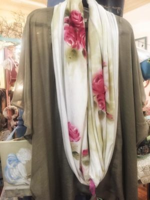 Janet Scarf painted with Annie sloan